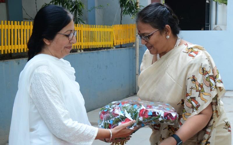 Prof. Savita Gandhi (welcome)
